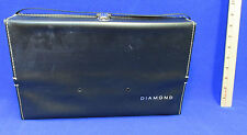 Vintage Polaroid Automatic Land Camera Case Diamond Brand Black Leather Bag