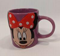 Disney Jerry Leigh Minnie Mouse 3D Purple Ceramic Coffee Mug