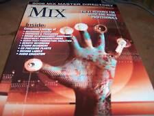 MIX Audio/Music Magazine Jan 2006 Mix Master Directory