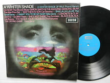 A WHITER SHADE The World Of Hits COMPILATION LP Procol Harum DECCA Moody Blues