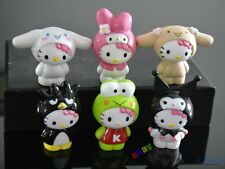 6Pcs Hello Kitty Play animal Action Figures Cake decorating Free Shipping To US