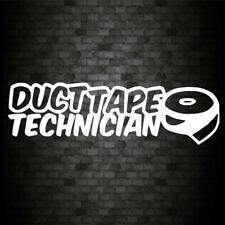 DUCT TAPE TECHNICIAN Sticker Funny Car Window Bumper JDM 4X4 Novelty Vinyl Decal