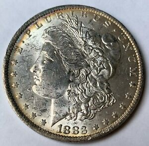 Beautiful Uncirculated 1883 O Morgan Silver Dollar