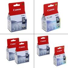 Genuine Canon PG-512 & CL-513 Ink Cartridges For Canon PIXMA Printers
