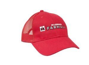 Farmall IH Logo Red Mesh Back Hat