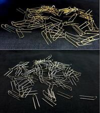 Jewelry Display U-PINS Pad Pins Silver OR Gold Jewelry U Pins 100/1000 Pcs