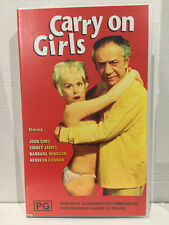 CARRY ON GIRLS ~ SID JAMES, BARBARA WINDSOR, JOAN SIMS ~ BRAND NEW VHS VIDEO
