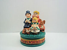 1970 Vintage Alice in Wonderland Music Box Chadwick-Miller, Boston Japan