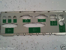 I/O IO PLATE BACK SHIELD PC MAKE MODEL UNKNOWN  *MAY SUIT VARIOUS MOTHERBOARDS