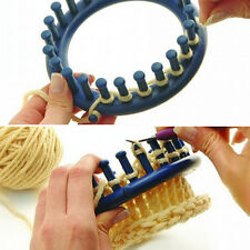 Blue Classical Round Circle Hat Knitter Knifty Knitting Knit Loom Kit 14CM New