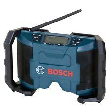 Bosch Akkuradio + Netzradio GML 10,8V-Li solo 2x5Watt mit AUX-In-Kabel GML10,8