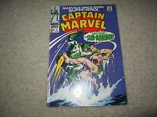 CAPTAIN MARVEL #4 AWESOME COMIC COOL SUB-MARINER COVER!!