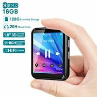 MP3 Player, 16GB Bluetooth 5.0 Music Player with Extendable Storage 128GB, HiFi