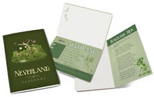 Peter Pan, Neverland Passport and Pocket NoteBook with Art Images NEW UNUSED
