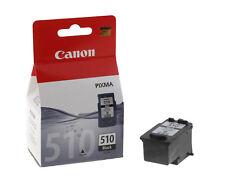 Canon PG-510 Nero Fine Cartuccia Getto d'Inchiostro Originale Inkjet Black PIXMA
