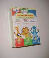 Disney Baby Einstein Nursery Necessities Discovery Kit 3-Pack Vol 2 Toy R Us New