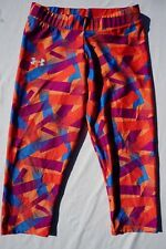 Under Armour Heatgear Crop Yoga, Running, Exercise, Athletic Leggings  Size S