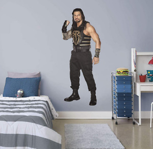 Roman Reigns Life Size Fathead WWE Vinyl Wall Decal Graphic (FH97)