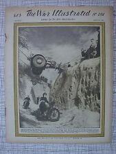 The War Illustrated #201 (Alsace Arakan Luzon, Burma, Manila, HMS Indefatigable)