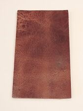 8-10 oz ANTIQUE BUFFALO Veg Tan Leather for Belts Holsters Sheaths Bags Journals