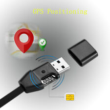 Real time GPS Tracker USB Charging Data Cable Tracking Cord Car Vehicle Android