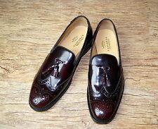 New& Ltd Charles Tyrwhitt Goodyear welt brogue tassled loafers UK 9 RRP £190