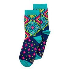 83fdf1b89 Spanish Blue Women s Crew Socks by Karma Gifts