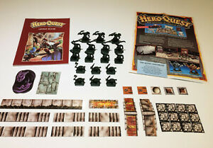 HeroQuest KELLARS KEEP Expansion - Superb Condition 100% Complete