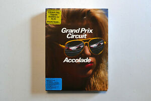 Grand Prix Circuit by Accolade for IBM/Tandy 1000 5.25 Disk Version CIB