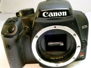 Canon EOS Digital Rebel XS 1000D 10MP SLR Camera Body Only - AS IS parts Repair