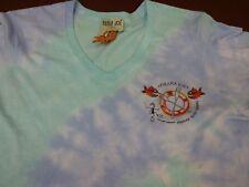 Pirana Joe Paradise Island Bahamas  Paddle Scuba Tie Dye T Shirt Womens Small K9