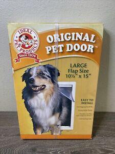 Plastic Pet Door PPDXL,  Ideal Pet Products NEW