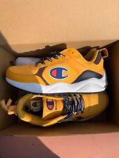 Champion 93 Eighteen Shoes Size 7 Yellow