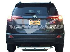 """VANGUARD 38"""" CHROME DOUBLE LAYER REAR BUMPER PROTECTOR HITCH STEP S/S"""