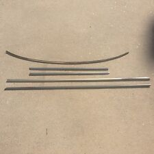 Mercedes-Benz W124 COUPE Lower Window Trim and Windshield Trim Set, 5 Pcs.