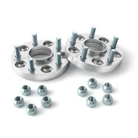 """25mm (1"""")   5x100 to 5x114.3 HUBCENTRIC Wheel Adapters Spacers   56.1   12x1.25"""