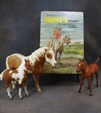 **MISTY, STORMY & SEA STAR of Chincoteague** Breyer models w/ HTF HC 3-in-1 Book