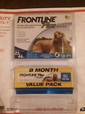 Frontline Plus 23 to 44 lb Flea & Tick Control Medium Dogs, 8 Doses EPA APPROVE