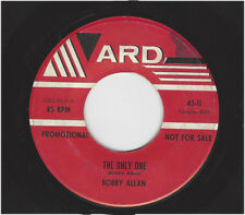 BOBBY ALLAN  - THE ONLY ONE  / (PROMO - same song)           ARD II