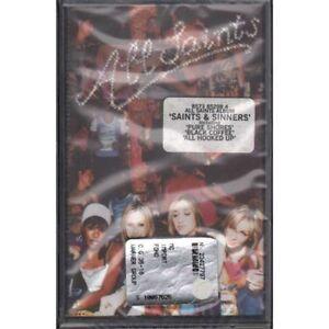 All Saints MC7 Saints & Sinners/London Records Sealed 0685738529841
