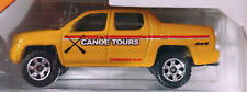 MATCHBOX YELLOW HONDA RIDGELINE PICKUP 2014 OUTDOOR SIGHTS CAMPING 5 GIFT PACK
