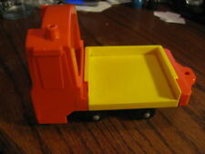 Fisher Price Lift & Load Railroad 943 Replacement Tilting Flat Bed Car  Lot # FP
