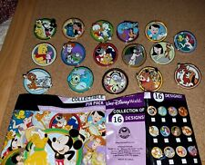 Disney Pins Best Friends Mystery Series Complete Set 16 AUTHENTIC FREE SHIPPING
