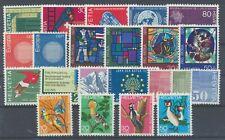 Schweiz Jahrgang 1970 postfrisch / in den Hauptnr. kompl. (17773) ..............
