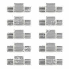 10Set 30PCS Aluminum Heatsink Cooler Kit For Cooling Raspberry Pi