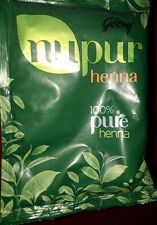 Godrej Nupur Henna 120g x12 Henna Natural Mehandi Powder Lot of 12 Free Ship