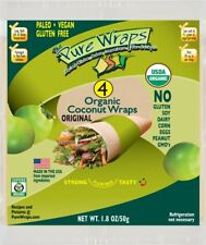 Organic Pure Wraps (Keto, Vegan, Gluten-Free) Coconut Wraps Original 4 count