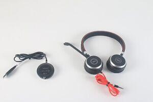 Jabra Evolve 30 II MS Stereo Noise Canceling Headset HSC060 With Jabra ENC010