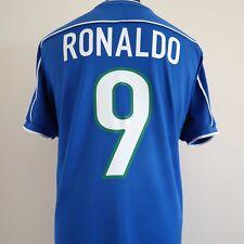 Brazil Away Football Shirt Adult Large RONALDO #9 1998/2000 World Cup