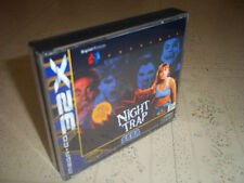 NIGHT TRAP.SEGA MEGA CD 32X PAL .REPLACEMENT CASE+INLAYS ONLY.NO GAME